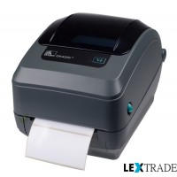 Принтер Zebra GK 420 T (203 dpi, USB, Ethernet, диспенсер)