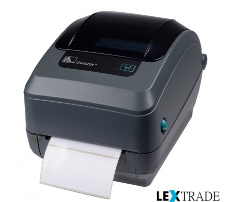 Принтер этикеток GK 420 T (203 dpi, USB, Ethernet, диспенсер)