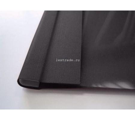 C-Bind Мягкие обложки А4 Softclear B 13 мм черные текстура лен