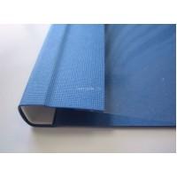 C-Bind Мягкие обложки А4 Softclear B 13 мм синие текстура лен