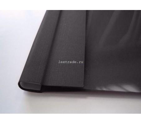 C-Bind Мягкие обложки А4 Softclear C 16 мм черные текстура лен