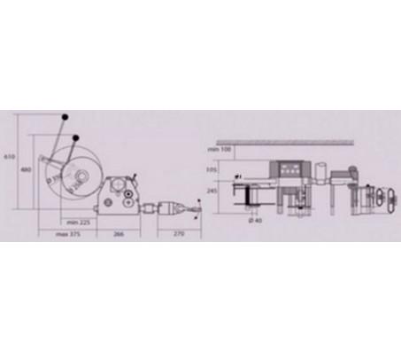 Автоматический этикетировщик (аппликатор) Collamat 6620