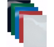 Обложки A4 картон, гянец, черные 250 гр/м2