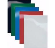 Обложки A4 картон, гянец, красные 250 гр/м2