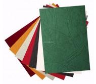 Обложки A4 картон, кожа, красные 230 гр/м2