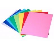 Обложки непрозрачные пластиковые матовые A4, 0,28 мм, красные