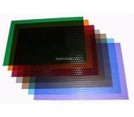 Обложки прозрачные пластиковые A4 0,18 мм, Кубик, синие
