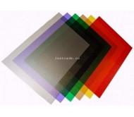 Обложки прозрачные пластиковые A4 0,18 мм, Модерн, фиолетовые