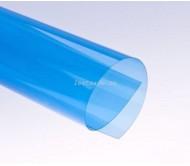 Обложки прозрачные пластиковые A4 0,2 мм, синие
