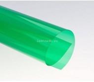 Обложки прозрачные пластиковые A4 0,2 мм, зеленые