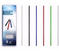 Пластиковые пружины 6 мм красные