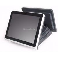 Кассовый POS терминал-моноблок GlobalPOS AIR I SSD с двумя экранами