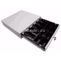 Денежный ящик HS-410A белый (штрих)