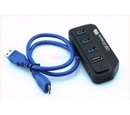 Переходник USB разветвитель на 4 порта