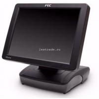 Кассовый POS терминал-моноблок Firich Glaive RT-665-D Atom 525 RAM 2G (c HDD 160GB/LPT) черный