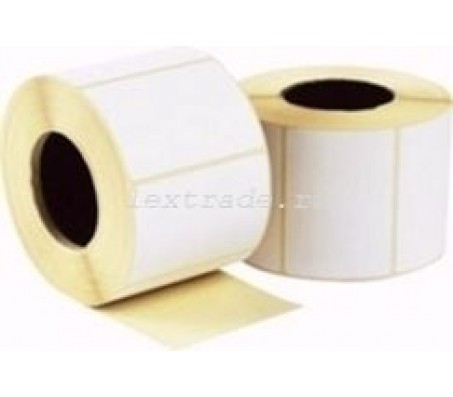 Термотрансферные этикетки 30 мм х 20 мм, ПГЛ TTP RP-51/40, стоимость за рулон