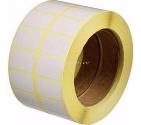 Термотрансферные этикетки 32 мм х 24,9 мм, ПГЛ TTP RP-51/40, стоимость за рулон