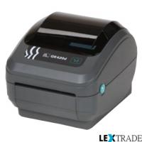 Принтер Zebra GK 420 D (RS232, USB, LPT, диспенсер)
