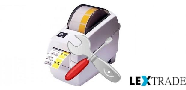 Ремонт принтеров этикеток, штрих-кода