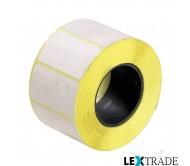 Термоэтикетки ЭКО 47х25 мм белого цвета