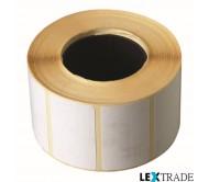 Термотрансферные этикетки 100х150 мм белого цвета