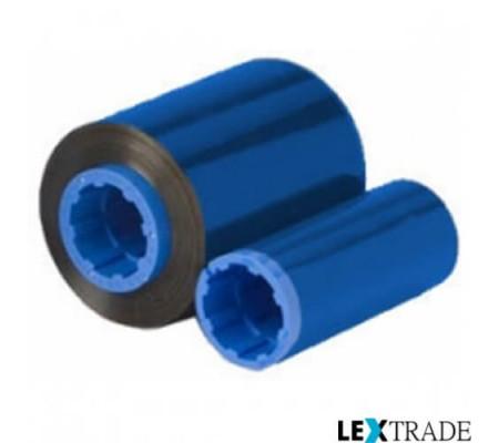 Монохромная красящая лента синего цвета