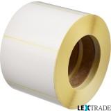 Этикетки самоклеящиеся термотрансферные 70х25 мм белого цвета