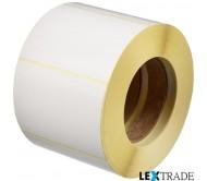 Термотрансферные этикетки 24х7,2 мм белого цвета