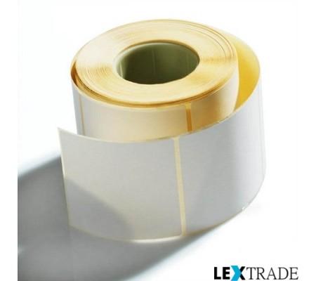 Этикетки самоклеящиеся термотрансферные 65х35 мм белого цвета