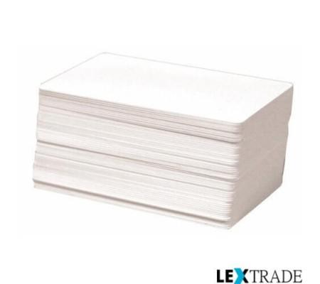 Пластиковые карты Zebra 500 штук