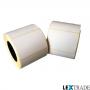 Этикетки самоклеящиеся термотрансферные 58х58 мм белого цвета