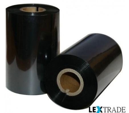 Термотрансферная лента WAX/RESIN 75 мм out/in 0.5/1