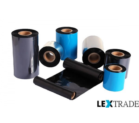 Термотрансферная лента WAX/RESIN 60 мм out/in 0.5/1