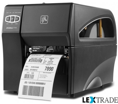 Принтер этикеток Zebra  ZT 220 (RS232, USB, LPT)