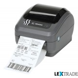 Принтер Zebra  GK 420 D (RS232, USB, диспенсер)