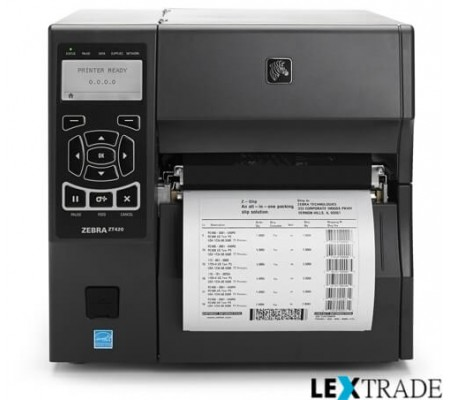 Принтер Zebra  ZT 420