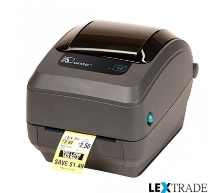 Принтер Zebra  GK 420 T (RS232, USB)