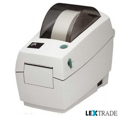 Принтер Zebra LP 2824 (прямая печать, 56 мм, скорость 102 ммсек, RS232, USB, Отделитель (2824-21121-0001)