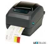 Принтер Zebra  GX 430 T (RS232, USB, Ethernet, Отделитель)