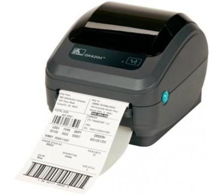 Принтер этикеток Zebra GK 420 T (USB, Ethernet, диспенсер)