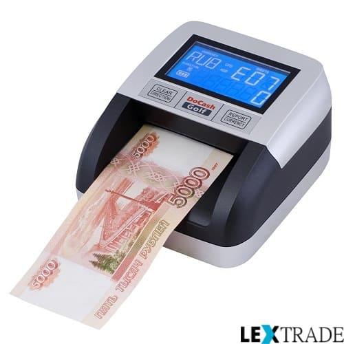 Заказать у менеджеров интернет-магазина Lextrade автоматические детекторы банкнот недорого