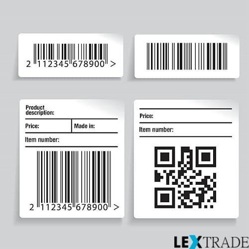 Окажем услуги по печати на самоклеющихся этикетках в нашем интернет-магазине Lextrade