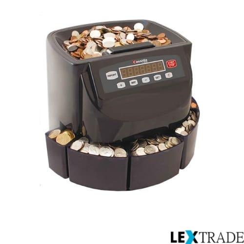 Приобретайте у нас в интернет-магазине Lextrade счетчики и сортировщики монет по очень выгодной цене