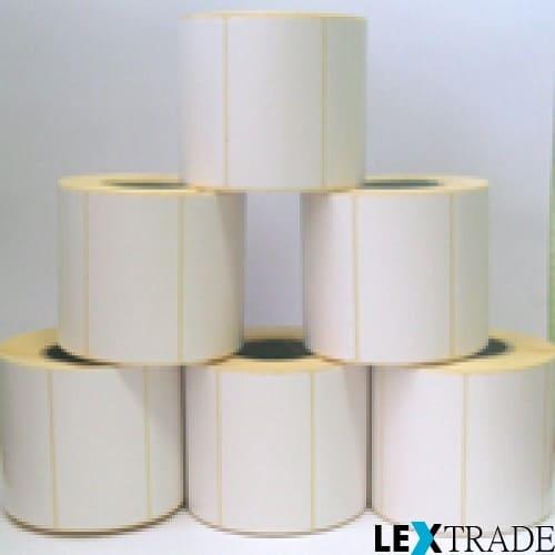Термоэтикетки ТОП белого цвета