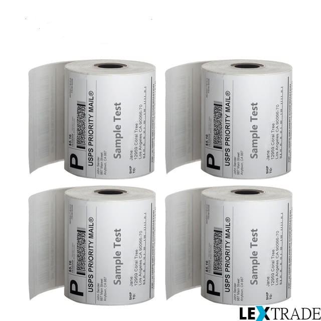 Этикетки ZEBRA термотрансферные и для термопечати