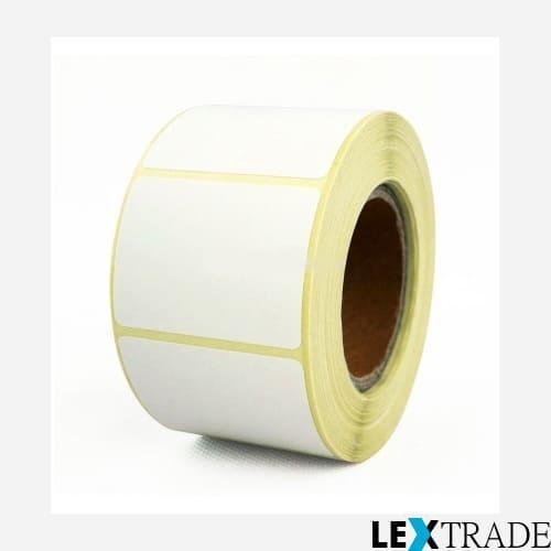 Термотрансферные этикетки 55х10 мм