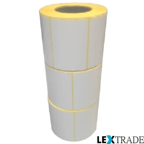 Термотрансферные этикетки 50х80 мм