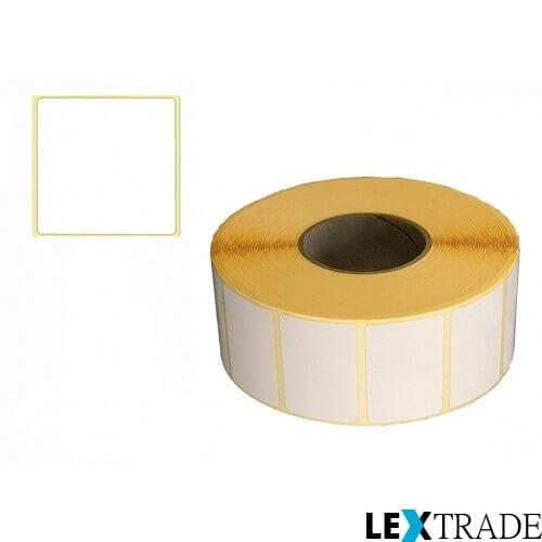 Рулон с термотрансферными этикетками 32х35 мм